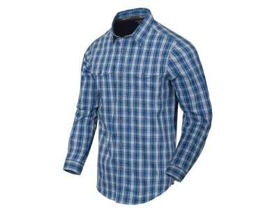 Сорочка Covert Concealed Carry з д. Рукавами, Ozark Blue Plaid, Helikon-Tex®