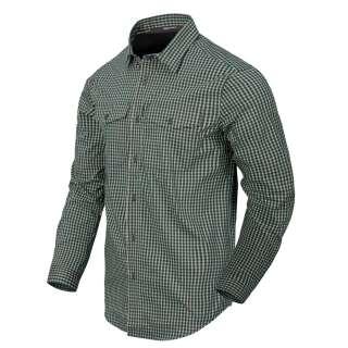 Сорочка Covert Concealed Carry з д. Рукавами, Savage Green Checkered, Helikon-Tex