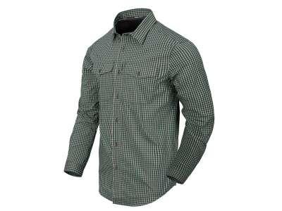 Рубашка Covert Concealed Carry с д. рукавами, Savage Green Checkered, Helikon-Tex®