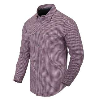 Сорочка Covert Concealed Carry з д. Рукавами, Scarlet Flame Checkered, Helikon-Tex
