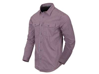 Рубашка Covert Concealed Carry с д. рукавами, Scarlet Flame Checkered, Helikon-Tex®