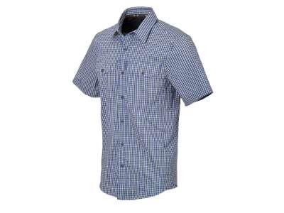 Рубашка Covert Concealed Carry с к. рукавами, Royal Blue Checkered (C4), Helikon-Tex®