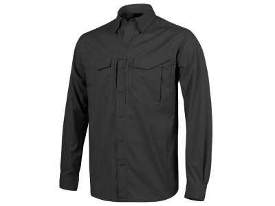 Рубашка DEFENDER Mk2 с д/рукавами - PolyCotton Ripstop, Black, Helikon-Tex
