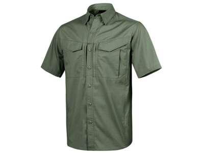 Рубашка DEFENDER Mk2 с к/рукавами - PolyCotton Ripstop, Olive Green, Helikon-Tex
