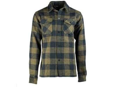 Рубашка фланелевая Sturm Mil-Tec Flannel Shirt (Black), Sturm Mil-Tec®