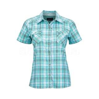 Рубашка женская Marmot Wm's Zoey SS, L - Aqua Blue (MRT 58510.2509-L)