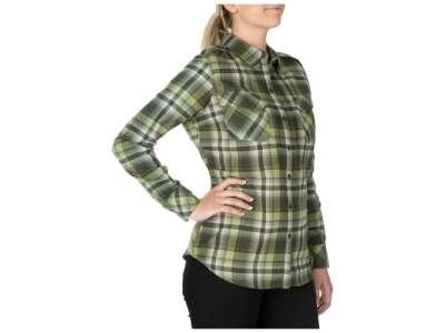 Сорочка жіноча тактична фланелева 5.11 Heartbreaker Flannel Shirt, [197] Swamp, 44140