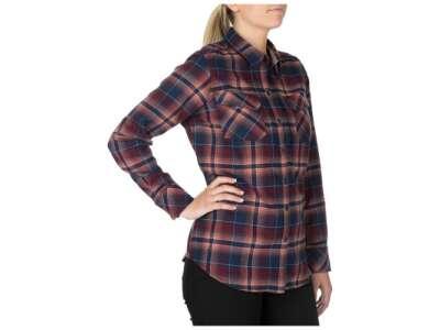 Сорочка жіноча тактична фланелева 5.11 Heartbreaker Flannel Shirt, [499] Coral, 44140