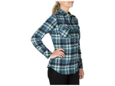 Рубашка женская тактическая фланелевая 5.11 Heartbreaker Flannel Shirt, [841] Neptune, 5.11