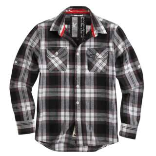 Рубашка клетчатая SURPLUS LUMBERJACK SHIRT, [019] Black, Surplus Raw Vintage®