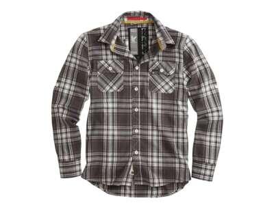 Рубашка клетчатая SURPLUS LUMBERJACK SHIRT, [029] Grey, Surplus Raw Vintage®