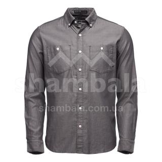 Рубашка мужская Black Diamond M LS Solution Shirt, S - Black/Ash (BD 7530019006SML1)