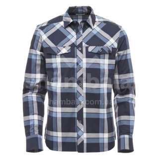 Рубашка мужская Black Diamond M LS Technician Shirt, XL - Captain/Blue Steel Plaid (BD KS50.411-XL)