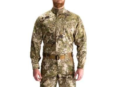 Сорочка тактична під бронежилет 5.11 GEO7 ™ Terrain STRYKE TDU® RAPID SHIRT, [865] Terrain, 5.11 ®