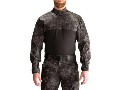 Рубашка тактическая под бронижилет 5.11 GEO7™ Night STRYKE TDU® RAPID SHIRT, [357] Night, 5.11 Tactical®