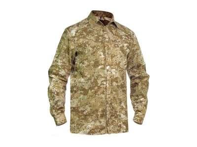 Рубашка полевая Huntman-Camo, [1235] Камуфляж Жаба Степная, P1G