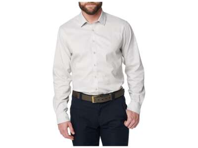 Сорочка тактична 5.11 Mission Ready Fitted Long Sleeve Shirt, [066] Fossil, 44140