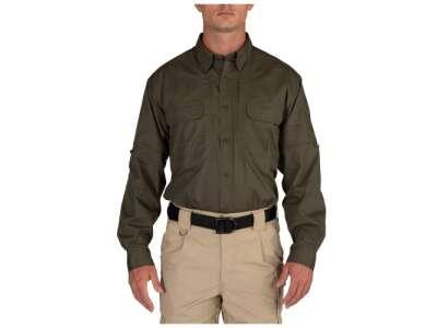 Рубашка тактическая 5.11 Taclite Pro Long Sleeve Shirt [186] RANGER GREEN, 5.11