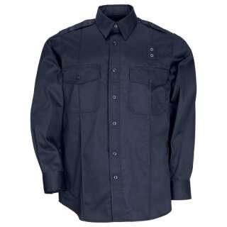 Рубашка тактическая форменная 5.11 Taclite PDU® Class-A Long Sleeve Shirt, Midnight Navy, 5.11 ®