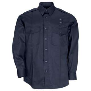 Сорочка тактична формений 5.11 Taclite PDU® Class-A Long Sleeve Shirt, Midnight Navy, 5.11 ®