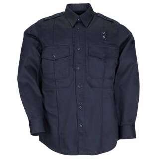 Рубашка тактическая форменная 5.11 Taclite PDU® Class-B Long Sleeve Shirt, [750] Midnight Navy, 44140