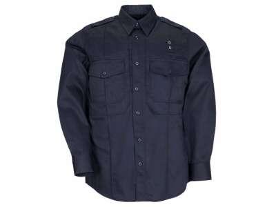 Сорочка тактична формений 5.11 Taclite PDU® Class-B Long Sleeve Shirt, [750] Midnight Navy, 5.11 ®
