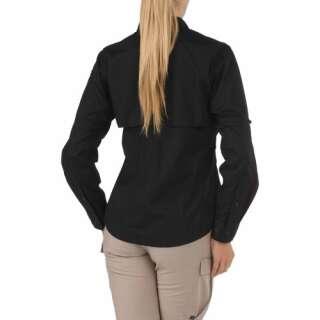 Сорочка тактична жіноча 5.11 Women's TACLITE® Pro Long Sleeve Shirt, [019] Black, 5.11 ®