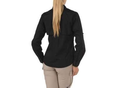 Сорочка тактична жіноча 5.11 Women's TACLITE® Pro Long Sleeve Shirt, [019] Black, 44140