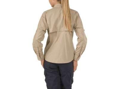 Рубашка тактическая женская 5.11 Women's TACLITE® Pro Long Sleeve Shirt, [162] TDU Khaki, 5.11