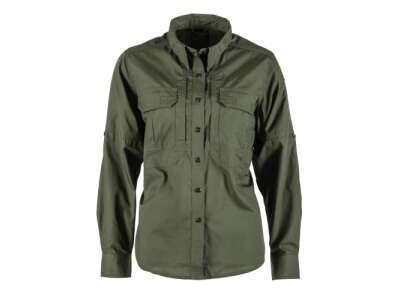 Рубашка тактическая женская 5.11 Women's TACLITE® Pro Long Sleeve Shirt, TDU Green, 44140