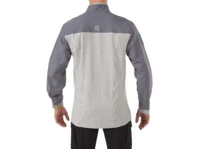 Рубашка тактическая под бронежилет 5.11 RAPID RESPONSE QUARTER ZIP, [092] Storm, 5.11