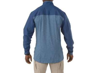 Рубашка тактическая под бронежилет 5.11 RAPID RESPONSE QUARTER ZIP, [709] REGATTA, 5.11