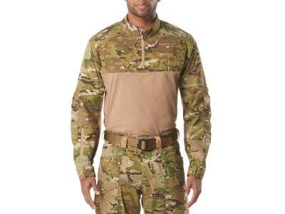 Рубашка тактическая под бронежилет 5.11 XPRT® MultiCam® Rapid Shirt, [169] Multicam, 5.11 Tactical®