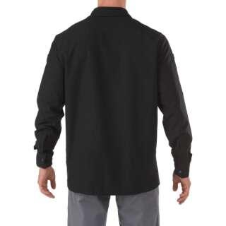Сорочка тактична з довгим рукавом 5.11 FREEDOM FLEX WOVEN SHIRT - LONG SLEEVE (Black), 5.11 ®