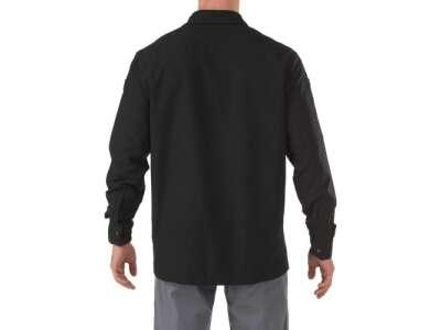 Рубашка тактическая с длинным рукавом 5.11 FREEDOM FLEX WOVEN SHIRT - LONG SLEEVE, [019] Black, 5.11