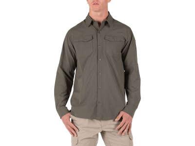 Рубашка тактическая с длинным рукавом 5.11 FREEDOM FLEX WOVEN SHIRT - LONG SLEEVE (RANGER GREEN), 5.11 ®