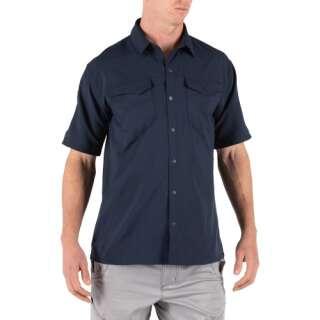 Рубашка тактическая с коротким рукавом 5.11 FREEDOM FLEX WOVEN S/S, Peacoat, 5.11 ®