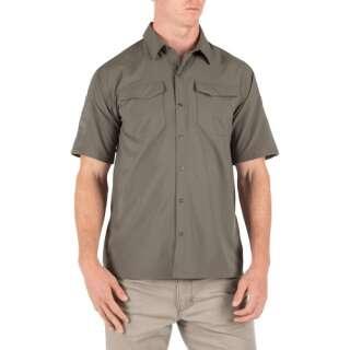 Рубашка тактическая с коротким рукавом 5.11 FREEDOM FLEX WOVEN S/S, RANGER GREEN, 5.11 ®