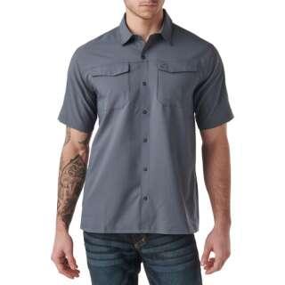 Рубашка тактическая с коротким рукавом 5.11 FREEDOM FLEX WOVEN S/S, Turbulence, 5.11 ®
