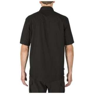 Сорочка тактична з коротким рукавом 5.11 Stryke ™ Shirt - Short Sleeve, [019] Black, 44140