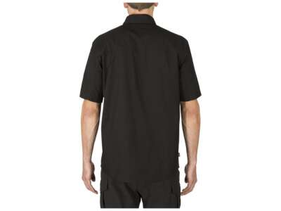Сорочка тактична з коротким рукавом 5.11 Stryke ™ Shirt - Short Sleeve, [019] Black, 44140