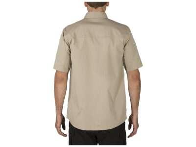 Сорочка тактична з коротким рукавом 5.11 Stryke ™ Shirt - Short Sleeve, [055] Khaki, 44140
