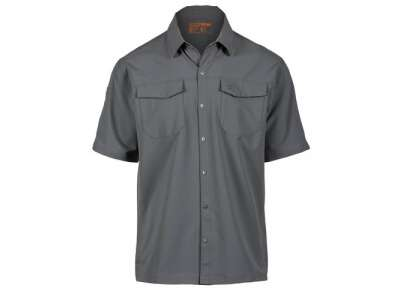 Сорочка тактична з коротким рукавом 5.11 Stryke ™ Shirt - Short Sleeve, [092] Storm, 44140