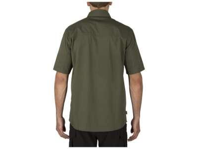 Сорочка тактична з коротким рукавом 5.11 Stryke ™ Shirt - Short Sleeve, [190] TDU Green, 44140