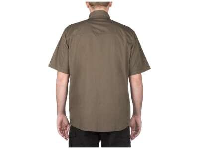 Сорочка тактична з коротким рукавом 5.11 Stryke ™ Shirt - Short Sleeve, [192] Tundra, 44140