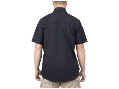 Рубашка тактическая с коротким рукавом 5.11 Stryke™ Shirt - Short Sleeve, [724] Dark Navy, 5.11