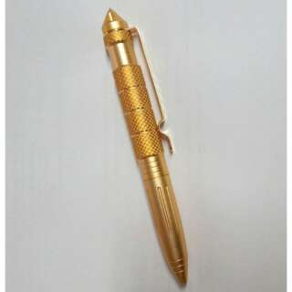 Ручка тактична Survival Defense Pen with Glass Breaker, [323] Goldfinger, Інші