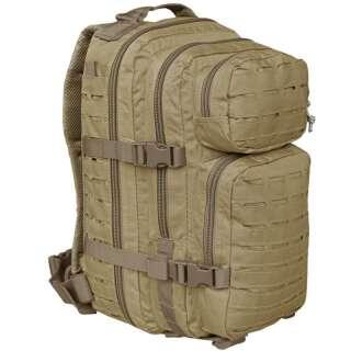Рюкзак тактический ASSAULT S LASER CUT, [120] Coyote, Sturm Mil-Tec® Reenactment