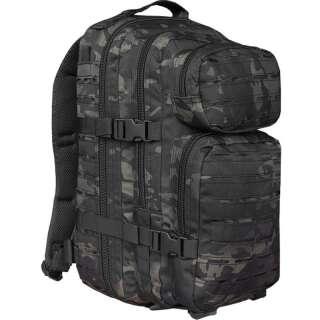 Рюкзак тактический ASSAULT S LASER CUT, [1252] MULTITARN BLACK, Sturm Mil-Tec® Reenactment