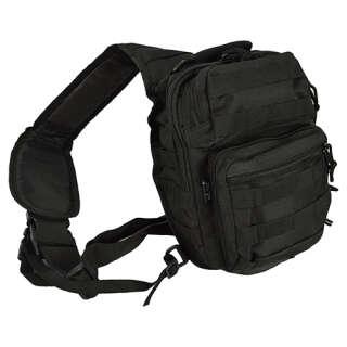 Рюкзак Mil-tec через плечо Assault (Black 8,5л), Mil-Tec Sturm